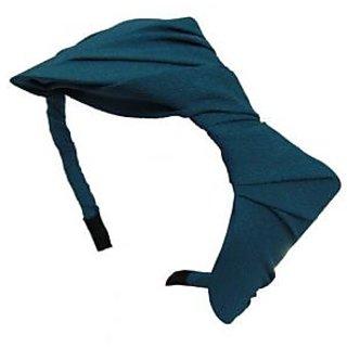 Turquoise Beautiful Chiffon Bow Headband