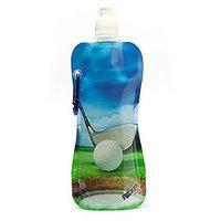POCKET BOTTLES CB1034 Golf Foldable Bottle, 16 oz, Multicolor
