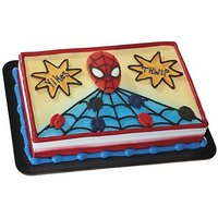 DecoPac Edible DecoSet, Spider Man and Spiders, 1.1 Pound