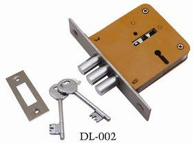 ATOM Bullet Mortice Door Lock with 2 Keys