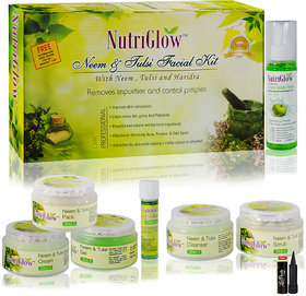 Nutriglow Neem  Tulsi Facial Kit With Neem,Tulsi  Haridra