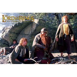 HungOver The Lord of the Ring Poster for Home and Office Poster Without Frame Single Piece (Size 12 x 18)