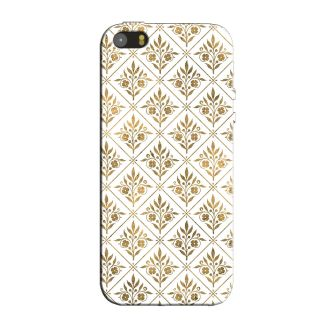 GOLDEN LEAVES  BACK COVER FOR NEW IPHONE 5
