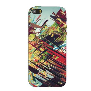 ABSTRACT FEAR  BACK COVER FOR NEW IPHONE 5