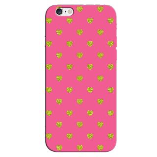 PINK HEARTS  BACK COVER FOR NEW IPHONE 6