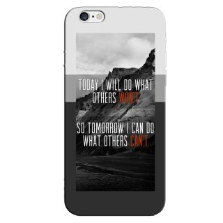 FUTURE QUOTE  BACK COVER FOR NEW IPHONE 6
