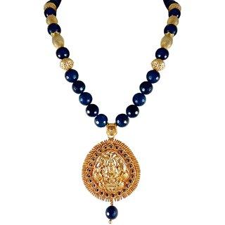 Rejewel Semi Precious Designer Necklace Set For Women