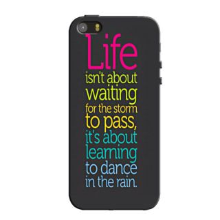 TYPO LIFE QUOTES  BACK COVER FOR NEW IPHONE 5