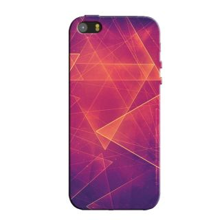 COLOR TRIANGLES  BACK COVER FOR NEW IPHONE 5