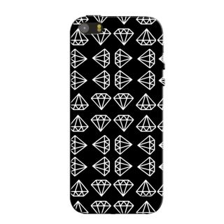 TOO MANY DIAMONDS  BACK COVER FOR NEW IPHONE 5