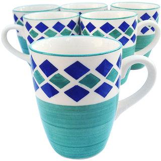 Jocular Ceramic Coffee Mug 6 Pcs 180 ml