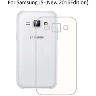Soft Silicon Transparent Back cover for Samsung Galaxy J5(2016)