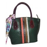Latest Fashion Stylish Green Colour Handbag For Women