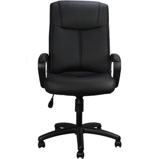 Ringabell High Back Revolving Executive Chair With Arm (Black)
