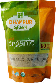 Dhampur Green Organic White Sugar 500 GM