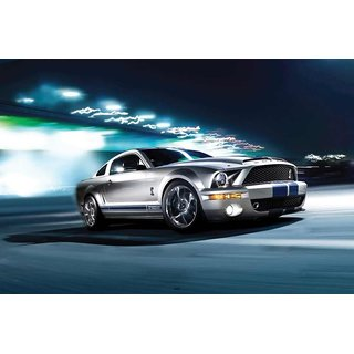 HungOver  Ford Mustang Poster  Without Frame Single Piece (Size 12 x 9)