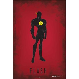 HungOver  Flash Justice League Poster  Without Frame Single Piece (Size 12 x 9)