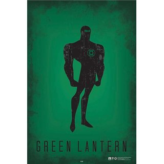 HungOver  Green Lantern Justice League Poster  Without Frame Single Piece (Size 12 x 9)