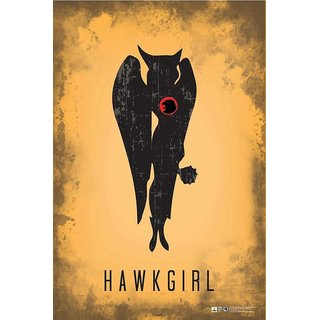 HungOver  Hawk Girl Justice League Poster  Without Frame Single Piece (Size 12 x 9)