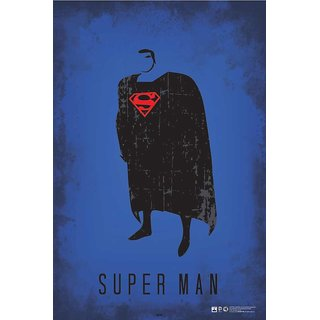 HungOver  Superman Justice League Poster  Without Frame Single Piece (Size 12 x 9)