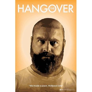 HungOver  The Hangover Poster  Without Frame Single Piece (Size 12 x 9)