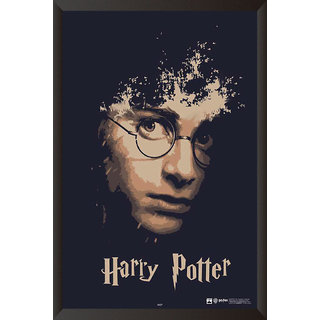 6584e6ce0d Buy HungOver Harry Potter Poster With Frame Single Piece (Size 12 x 9)  Online - Get 30% Off