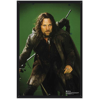 HungOver The Lord of the Rings Poster for Home and Office With Frame Single Piece Size (12x9  Inches)