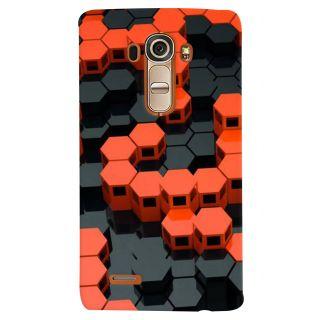 Stubborne LGG4 Multicolor Prism Design 3D Printed Mobile Back Cover / Case