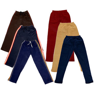 Indistar Girls 3 Cotton Lower and 3 Cotton Legging ( Pack of 6)_Multiple_5-6 Years