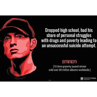 HungOver  Eminem Poster  Without Frame Single Piece (Size 12 x 9)