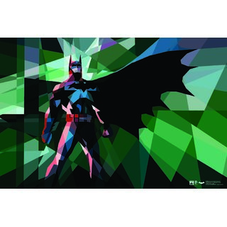 HungOver Batman Diamond Art Poster Home and Office Poster  Without Frame Single Piece Size (12x9  Inches)