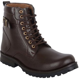 Austrich Brown Desert High Ankel Length Boot