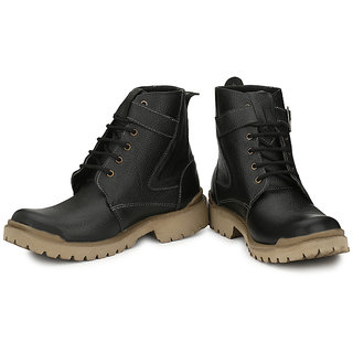 a577847efb2 Buy Wonker Black Men S Boots Online   ₹2495 from ShopClues