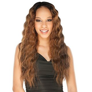 ATALYA (1 Jet Black) - Shake N Go Equal Lace Front Deep Invisible L Part Synthetic Hair Wig