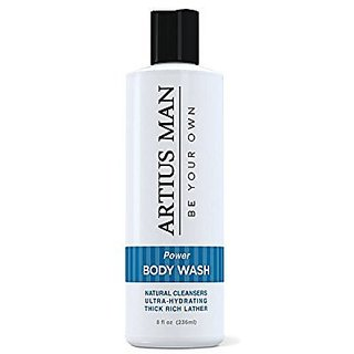 Mens Body Wash /With Amazing Natural Mild Citrus Scent / 8 oz.