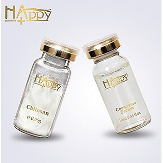 Magic Chitosan Polypeptide Anti-Wrinkle Serum Silk & Coenzyme Perfect Youth Serum Anti Acne Moisturizer with Vitamin C/D