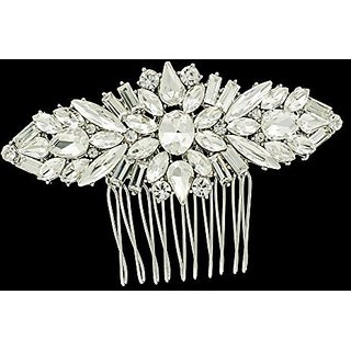 SEP Crystals Rhnestone Hair Combs Women Hairpins Bridal Wedding Hair Jewelry Accessories 4364CLE