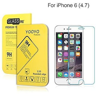 iPhone 6 4.7 inch Screen Protector, YooyoTM Premium High Definition Shockproof Clear Tempered Glass Screen Protector 0.3