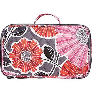 Vera Bradley Blush & Brush Makeup Case (Cheery Blossoms)
