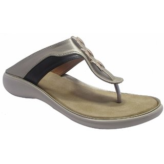 Sammy Women's Silver Slip on Sandals