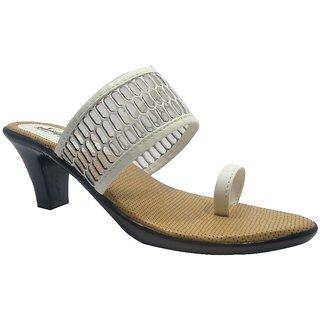Sammy Women's White Open Sandals