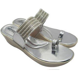 Sammy Women's Silver Open Sandals