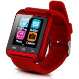 Jiyanshi Bluetooth Smart Watch with Apps like Facebook , Twitter , Whats app ,etc for Celkon Smartron A67