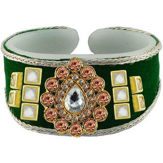 Vidhya kangan Green Non Plated Bracelets  For Women