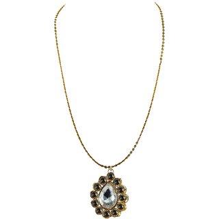Vidhya Kangan Gold Necklace Set For Women-nec2211