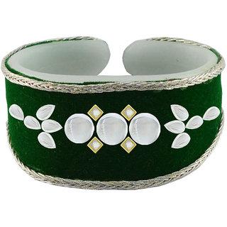 Vidhya kangan Green Non Plated Bracelets  For Women