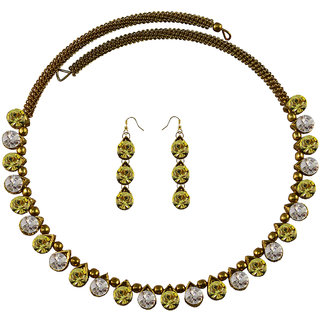 Vidhya Kangan Multicolor Necklace Set For Women-nec2098