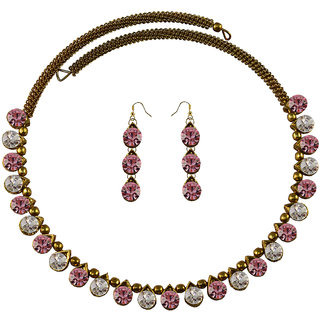 Vidhya Kangan Multicolor Necklace Set For Women-nec2102