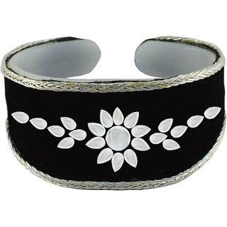 Vidhya kangan Black Non Plated Bracelets  For Women