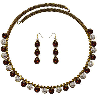 Vidhya Kangan Multicolor Necklace Set For Women-nec2110